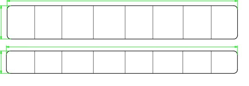 Verlijmde panelen
